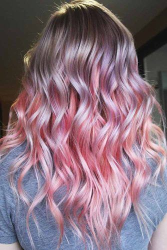 Light Strawberry Lilac #unicornhair #pinkhair