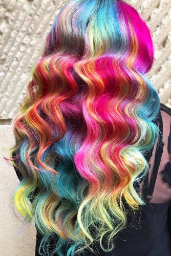Mermaid Hair #unicornhair #mermaidhair