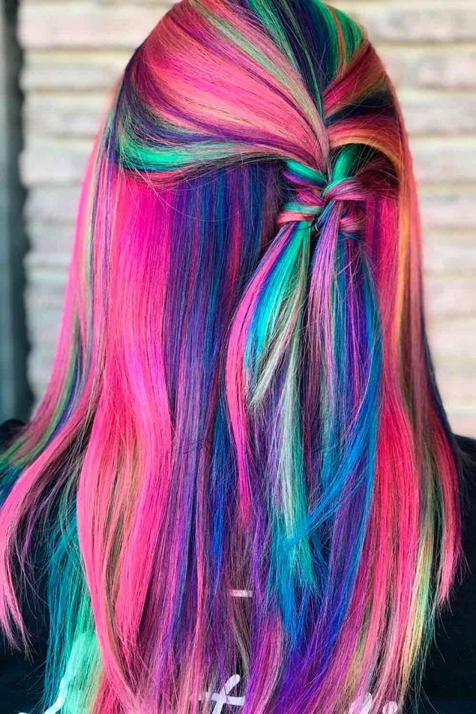 Neon Unicorn Hair