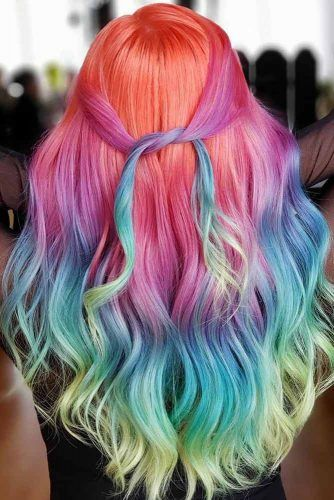 Neon Unicorn #unicornhair