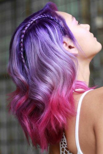 Purple & Fuchsia #unicornhair