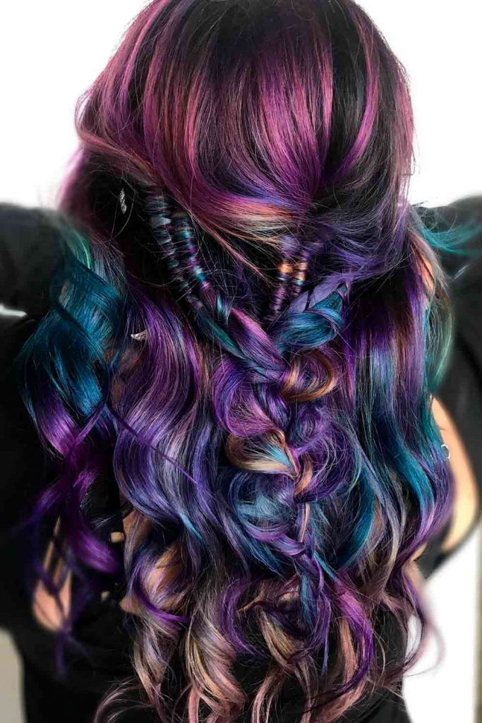 Spooky Unicorn Hair