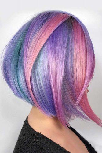 Vibrant Pastels #unicornhair #pinkhair