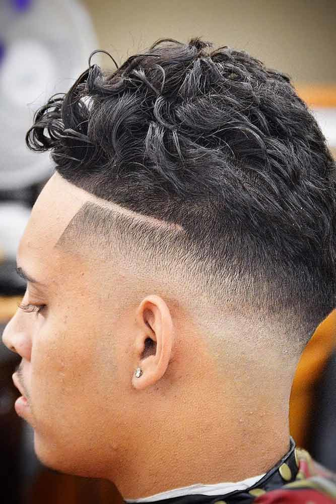 Medium Wavy Haircut #blackmenhairstyles #blackmenhaircuts