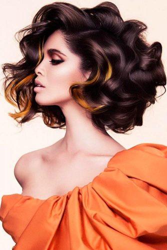 Big Voluminous Waves #fingerwaves #hairstyles #mediumhair #lobhaircut
