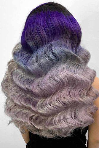 Long Zig Zag Waves #fingerwaves #hairstyles #longhair
