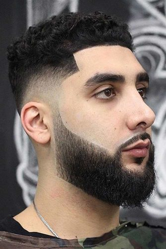 The Arabic Style #arabichairstyle #flattophaircut #fadehaircut
