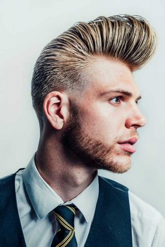 Rockabilly Inspired Flat Top #flattophaircut #rockabillyhairstyle #menshaircuts