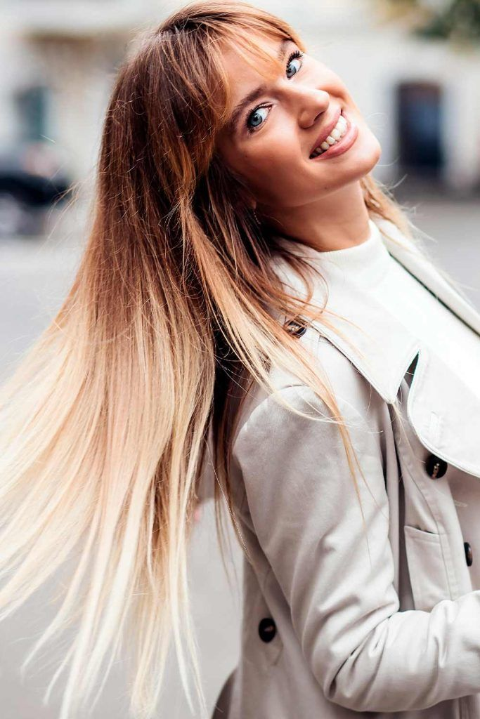 Ashy-To-Honey Blonde Ombre
