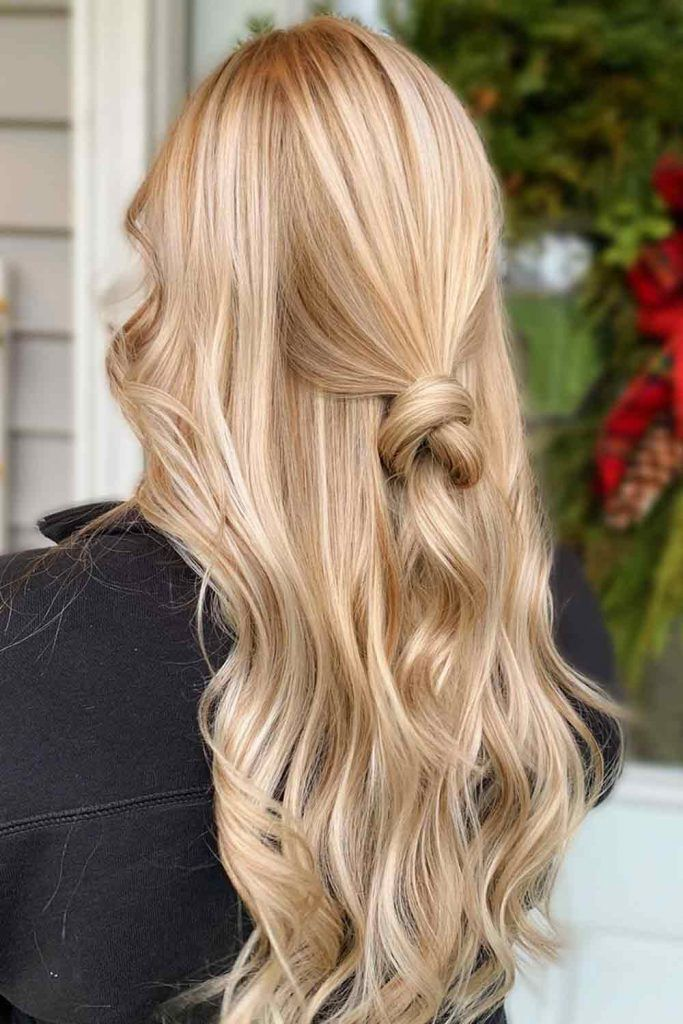 Pale Light Honey Blonde #longhair #hairstyles