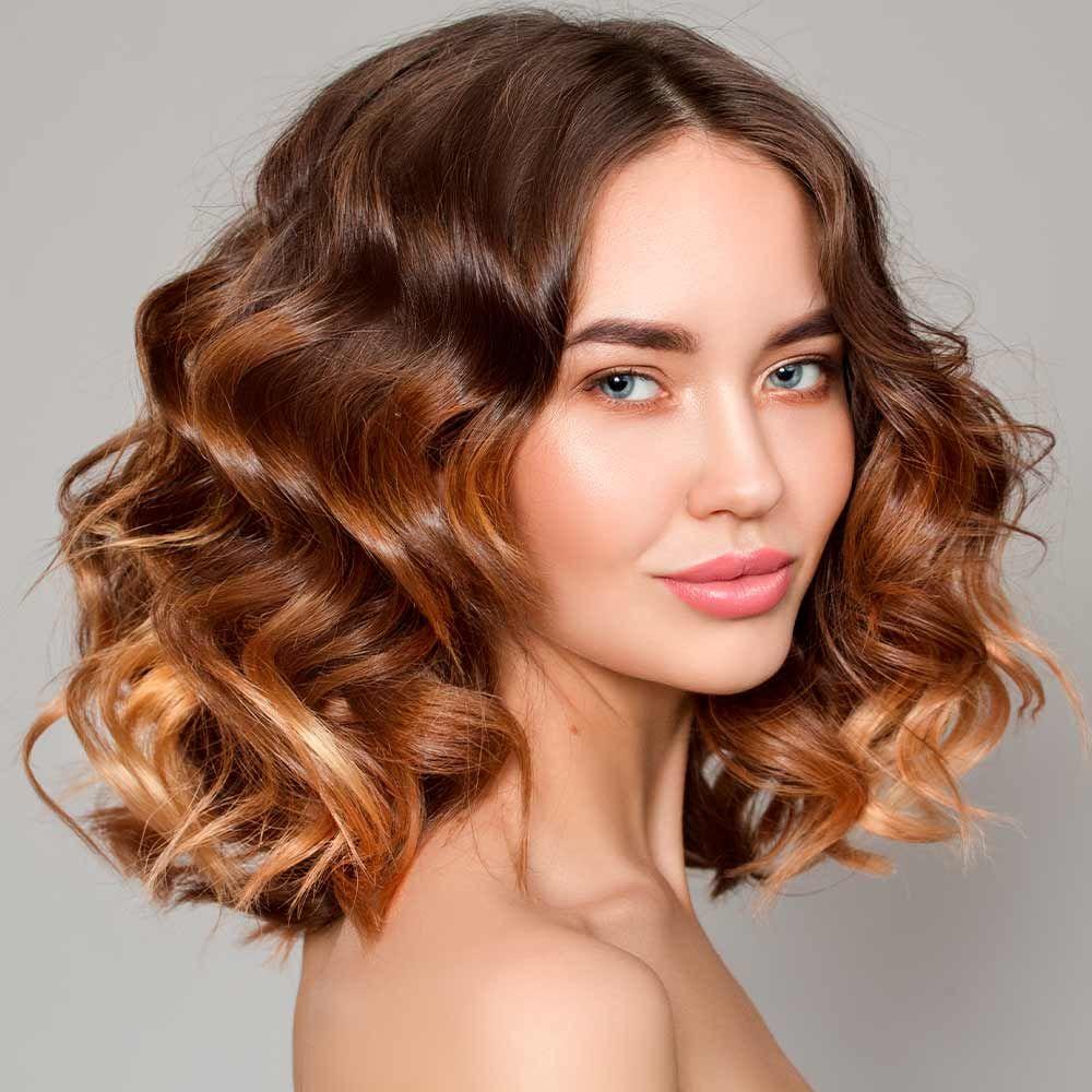 Bronze & Honey Hair
