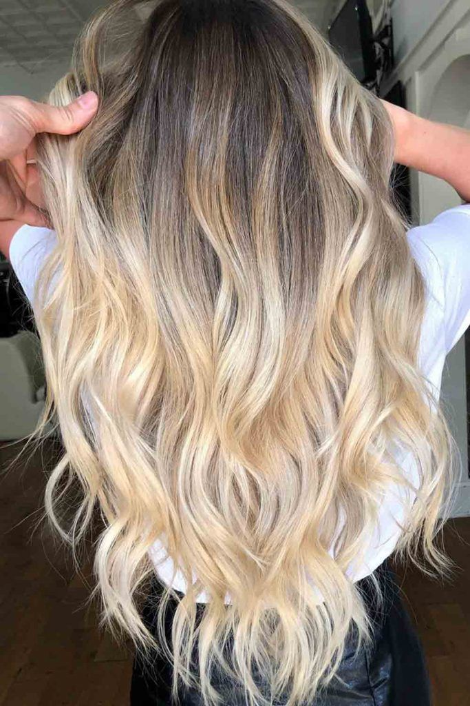 Ashy-To-Honey Blonde Ombre #ombrehair #blondeombrehair