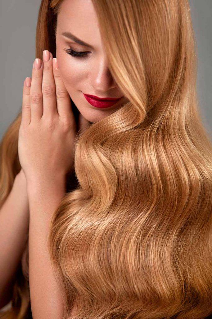 Golden Honey Hair