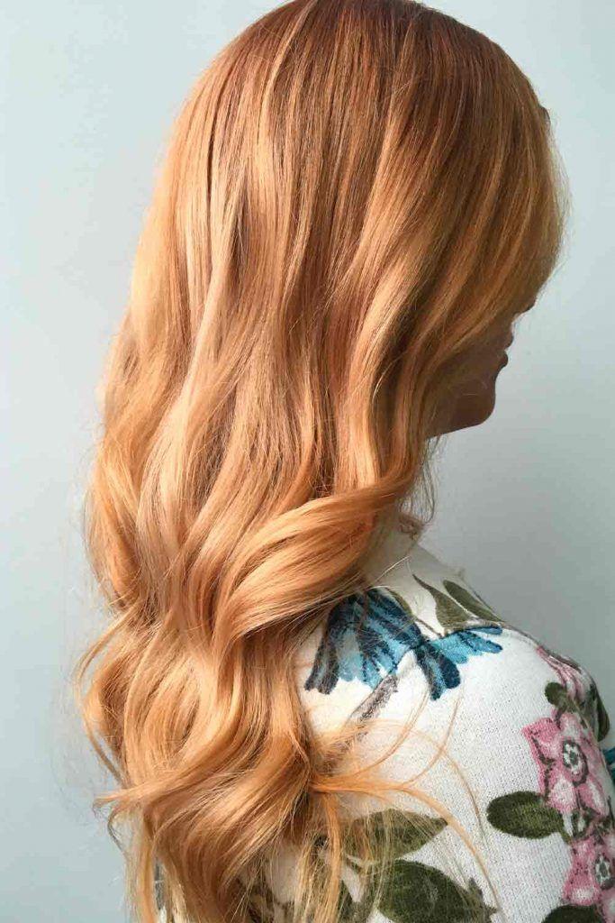 Light Warm Honey Blonde