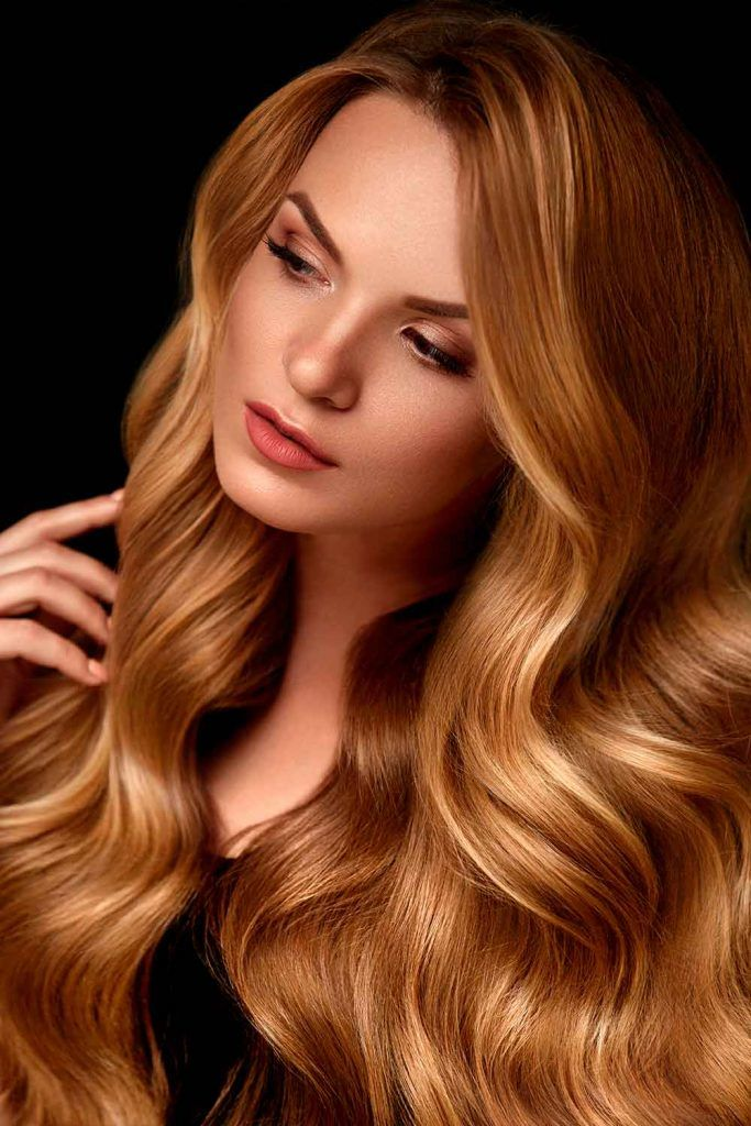 All Over Honey Blonde Coloring