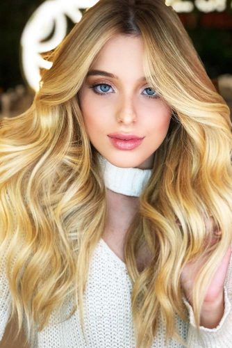 Extra-Dimensional Blonde Highlights #blondehair #honeyblonde #highlights