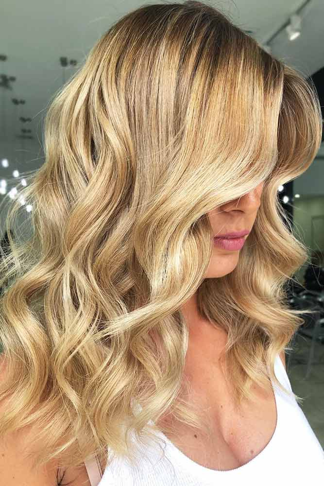 Shadow Roots Idea For Honey Blonde #blondehair #honeyblonde