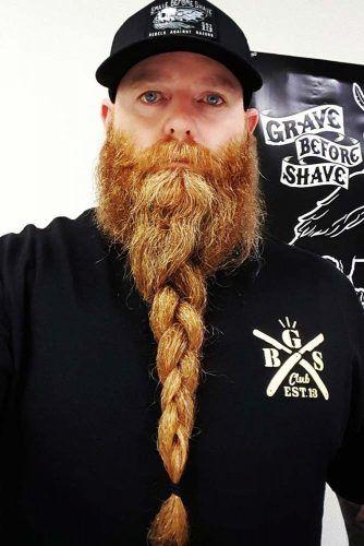 Beard Braid #braidedbeard #vikinghairstyles #vikinghair