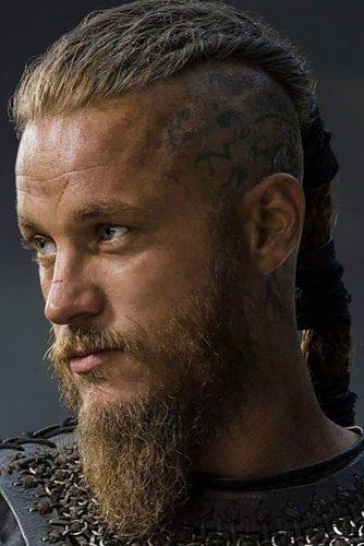 Ragnar Lothbrok Inspired Style #undercut #vikinghairstyles #vikinghair