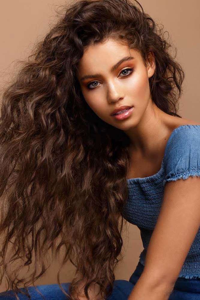 Body Wave For Long Hair #perm #permhair #permhairstyles #bodywaveperm #longhair
