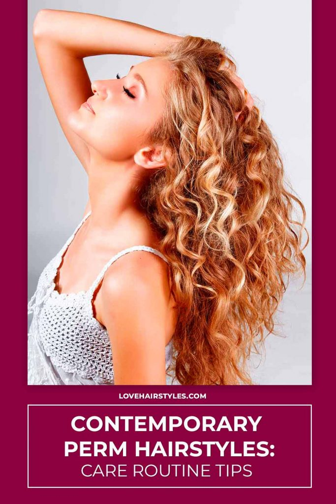 Perm Hair: Care Routine Tips