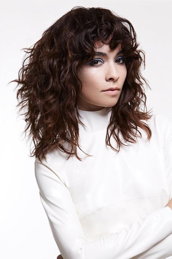 Pin Curl Perm For Medium Hair #perm #permhair #permhairstyles #pincurlperm #mediumhair