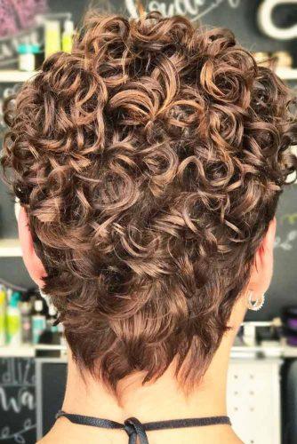 Pin Curl Perm For Pixie Haircut #perm #permhair #permhairstyles #pincurlperm #pixiehaircut