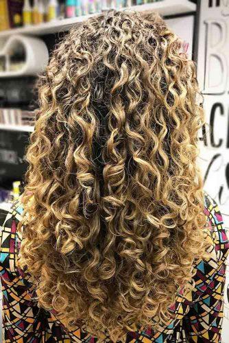 Spiral Perm For Long Hair #perm #permhair #permhairstyles #spiralperm #longhair