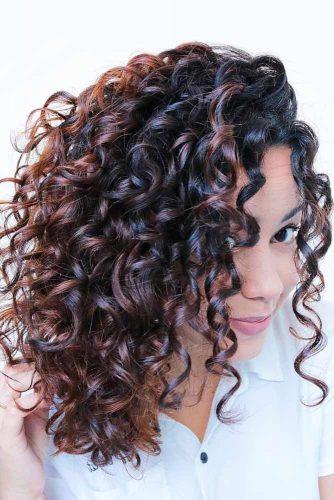 Loose Spiral Perm For Shoulder Length Hair