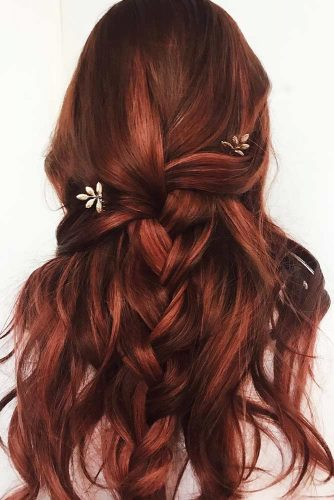 Berry-like Highlights #brunette #redhair #highlights