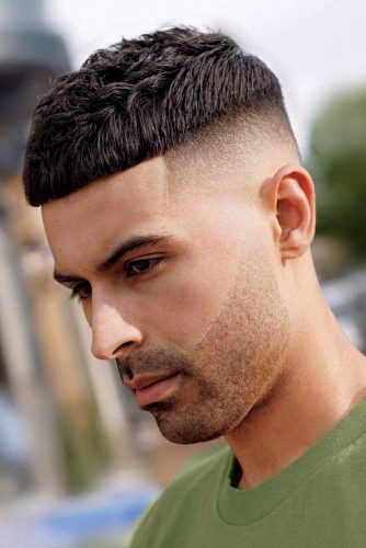 French Crop High Skin Fade #skinfade #fadehaircut #menhaircuts #highfade