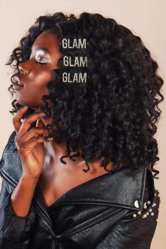 Spiral Perm Style With Hair Clips #spiralperm