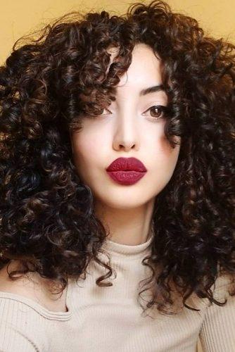 Chic Root Perm #spiralperm #curlyhair #mediumhair