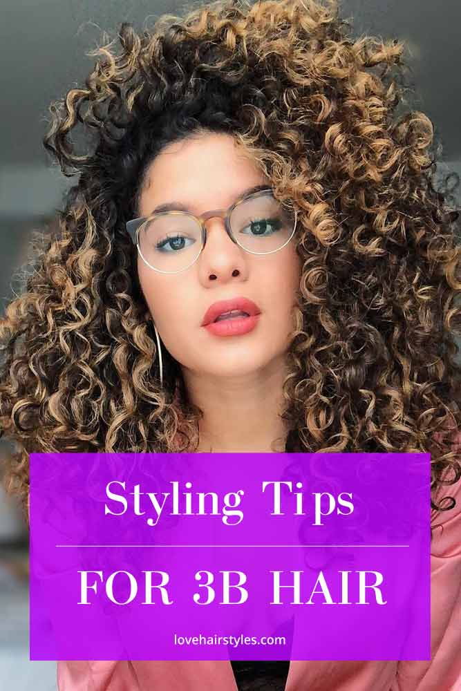 Styling Tips For 3b Hair #3bhair #curlyhair #hairtypes
