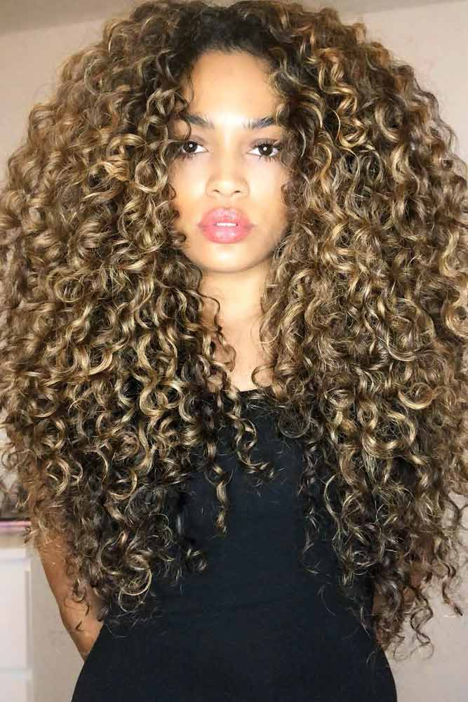 Hair Care And Styling Products For 3b Curly Hair #3bhair #curlyhair #hairtypes
