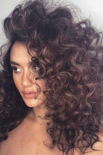 Curly 3A Hair #curlstypes #curlyhair #hairtypes