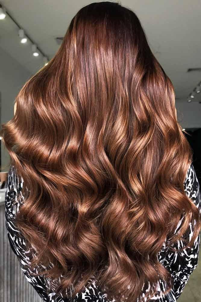 Golden Chestnut Brown #brownhair #goldenbrownhair