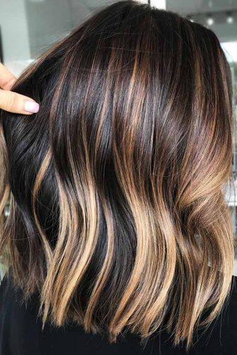 Dark, Warm Gold #brownhair #blondehair #balayage