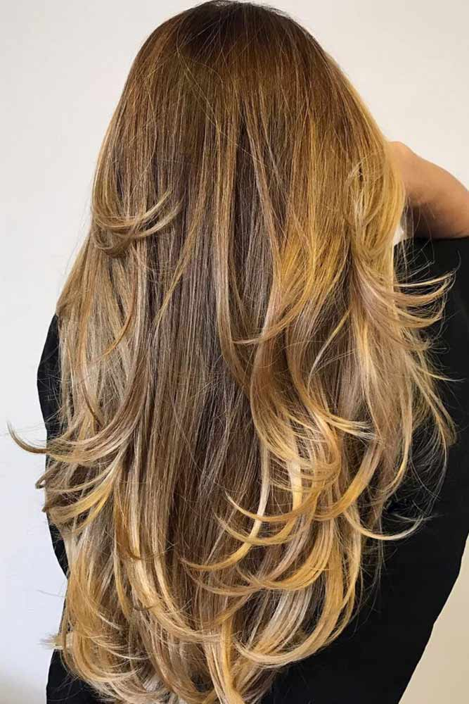 Golden Ends #brownhair #blondehair #balayage