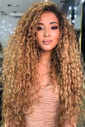Light Golden Brown With Black Roots #brownhair #goldenbrownhair