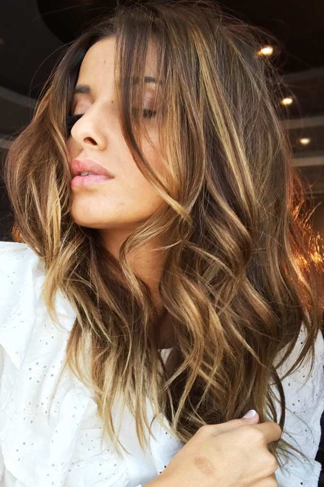 How To Take Care Of Golden Brown Hair #brownhair #highlights