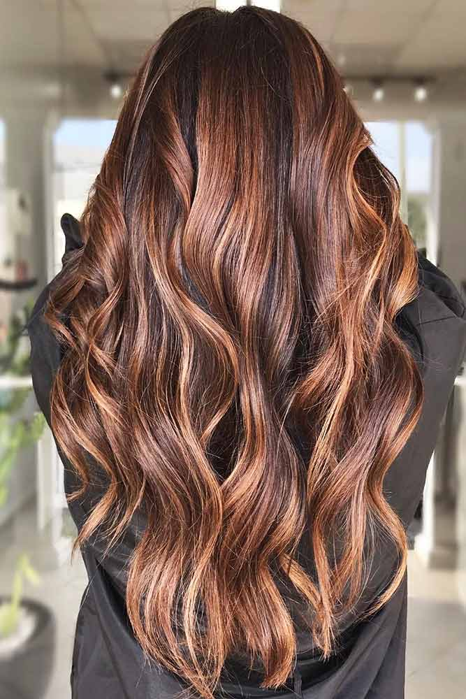Medium Warm Tone #brownhair #highlights