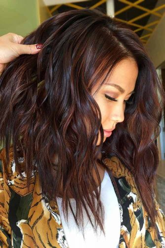 Deep Reddish Brown #brownhair #redhair
