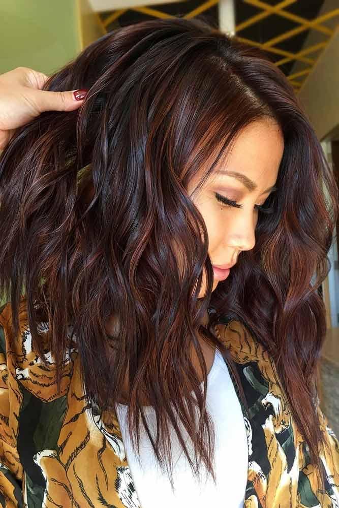 Deep Reddish Brown #brownhair #redhair
