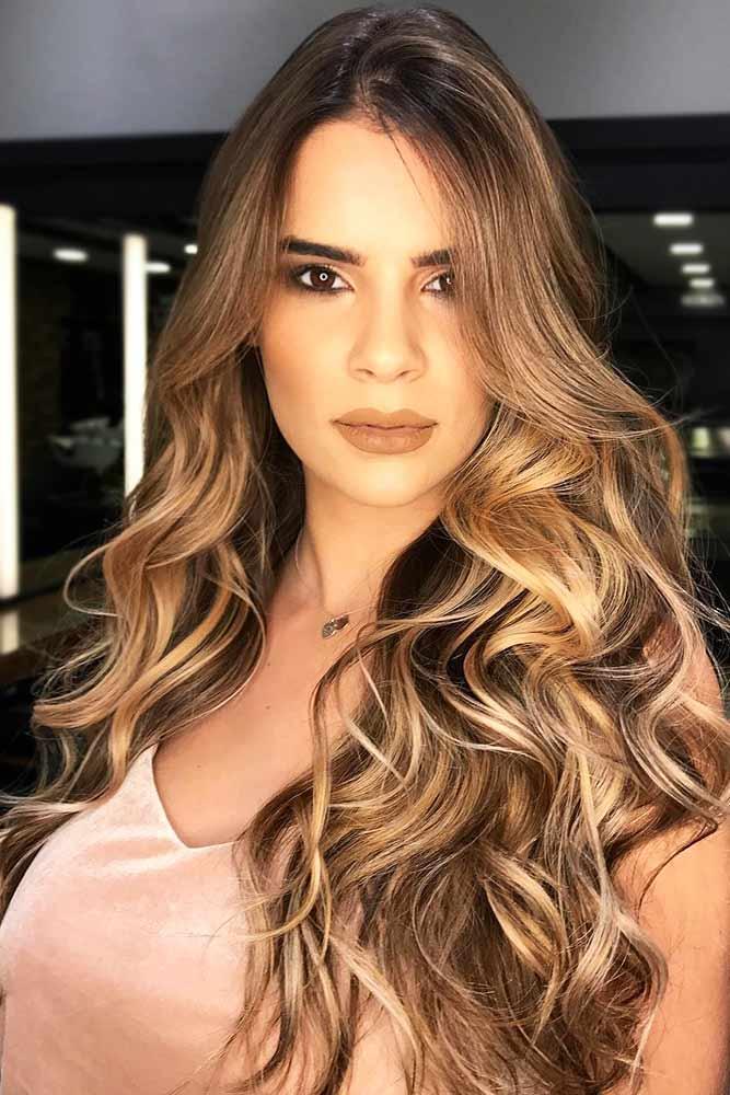 Slight Golden Brown Hue #brownhair #blondehair #highlights