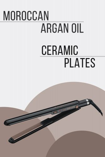 Onen Only Argan Heat Ceramic Straightening Iron #hairstraightener #hairtreatments