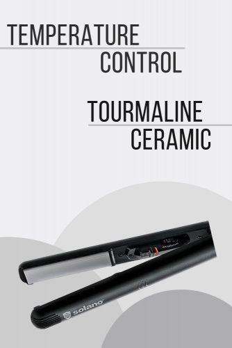Solano Sleek Heat 450 Professional Flat Iron #hairstraightener #hairtreatments
