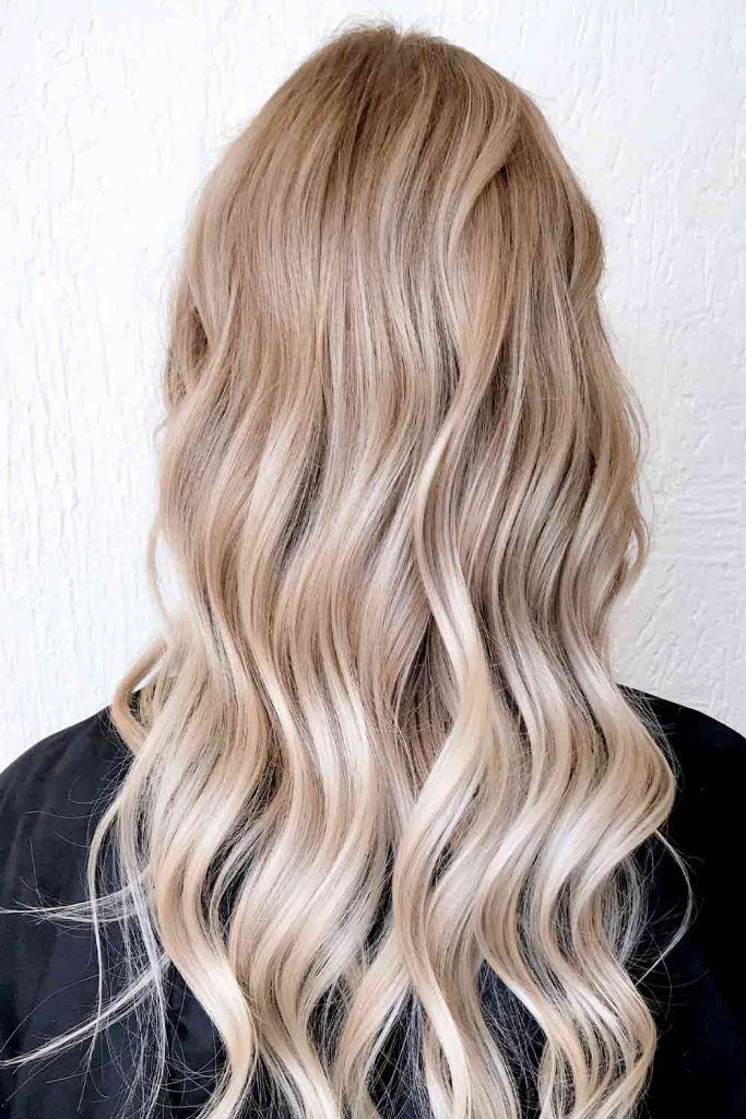 Lowlights For Icy Blonde