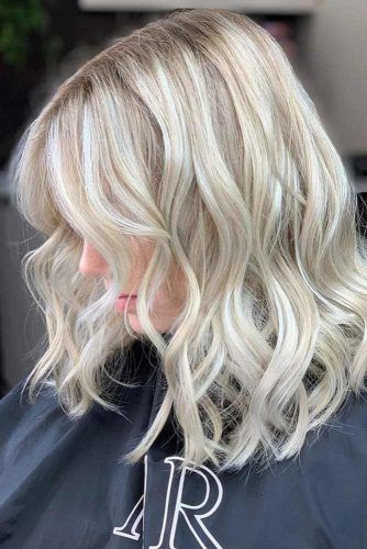 Lowlights For Icy Blonde #lowlights