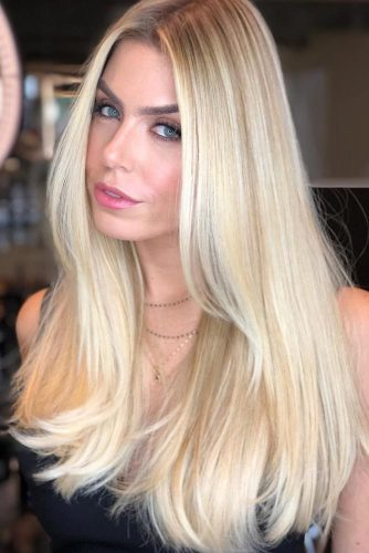 Light Warm Brown Lowlights For Blonde Hair #lowlights #highlights #blondehair